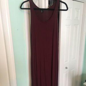 Maroon Maxi from H&M